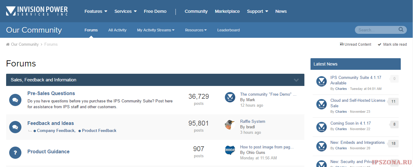 IPS Community Suite 4.1.18 Nulled
