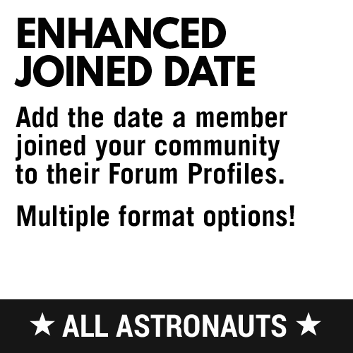 Enhanced Joined Date