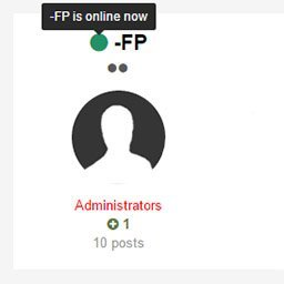Online Indicator