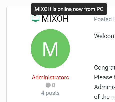 (MIX) Advanced Online Indicator