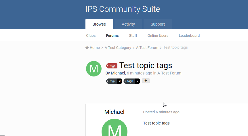 Format Tags CSS
