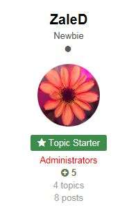 Topic Starter Info In Topic View