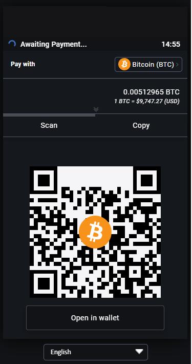 BTCPay Gateway