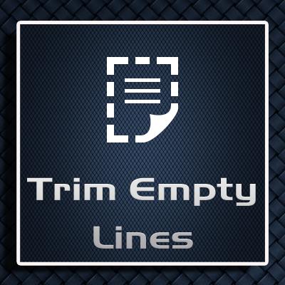 Trim Empty Lines in Posts