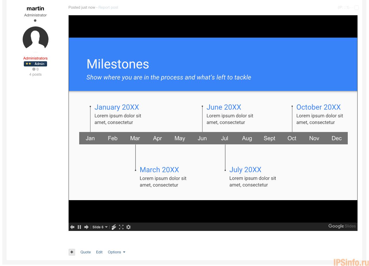 Google Docs Embed