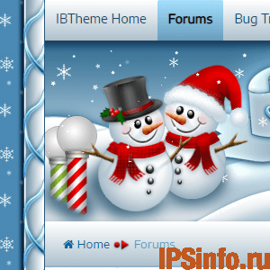 [IBTheme] - White Christmas - (IBSkin)