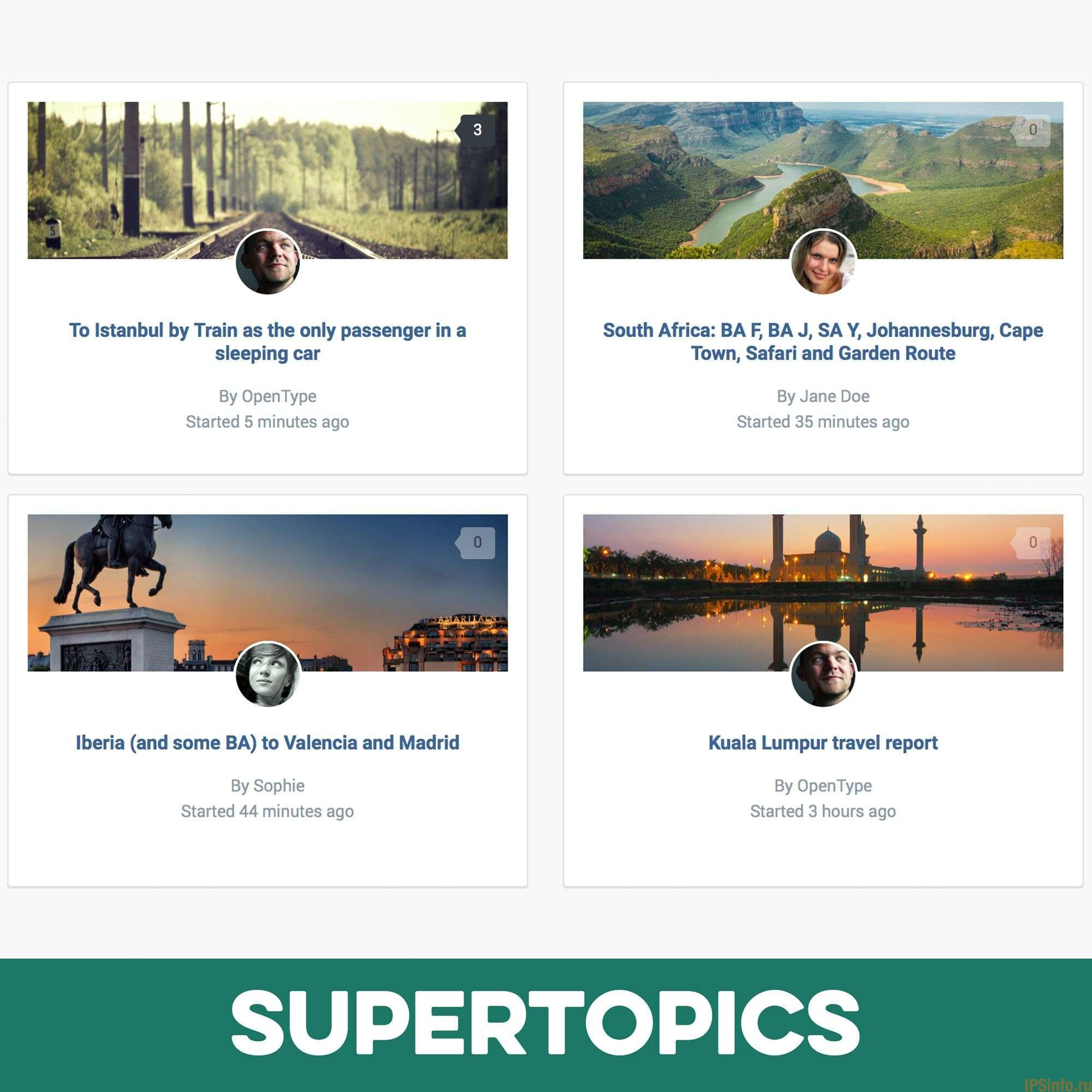 Pages SuperTopics