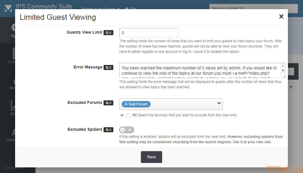 Limit Thread Views for Guests -- Motive Guests to Register