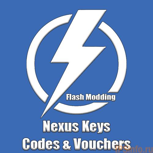 Nexus Keys, Codes & Vouchers