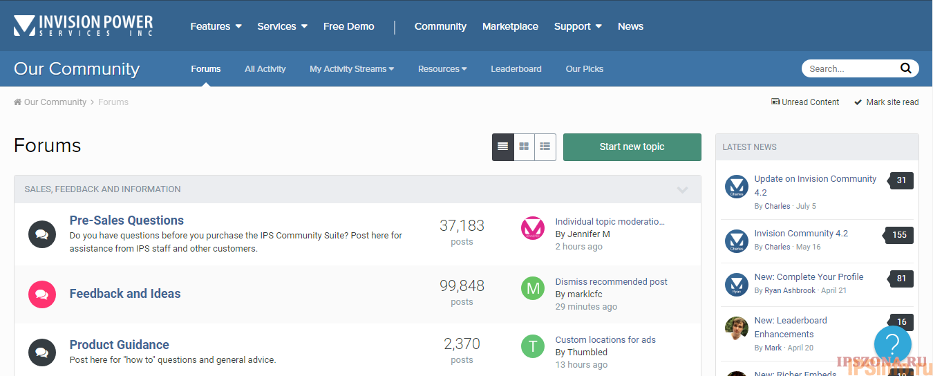 Invision Community 4.2.2 Nulled