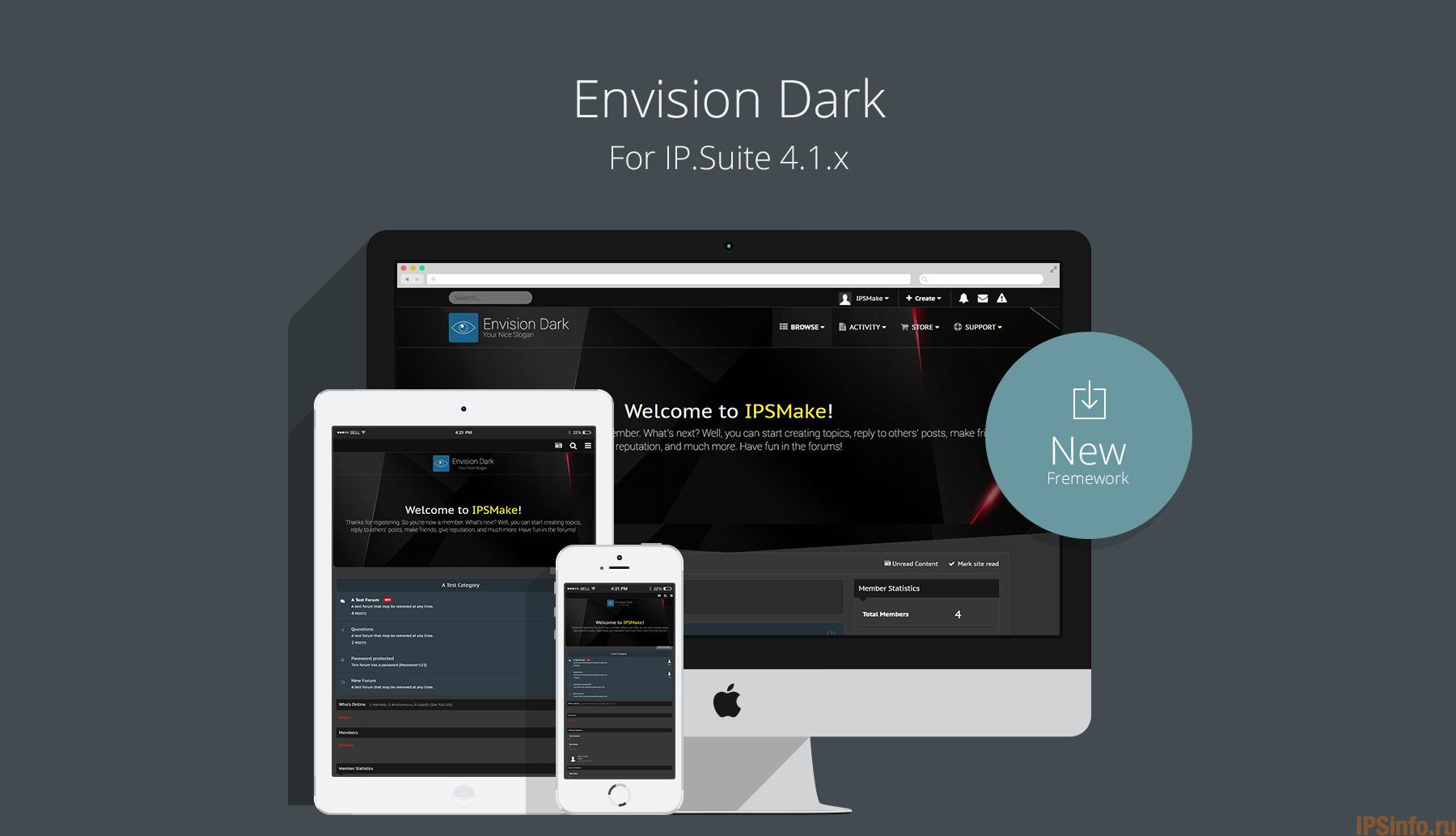 IPS 4.x Envision Dark