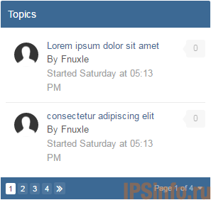 Topic Feed Pagination