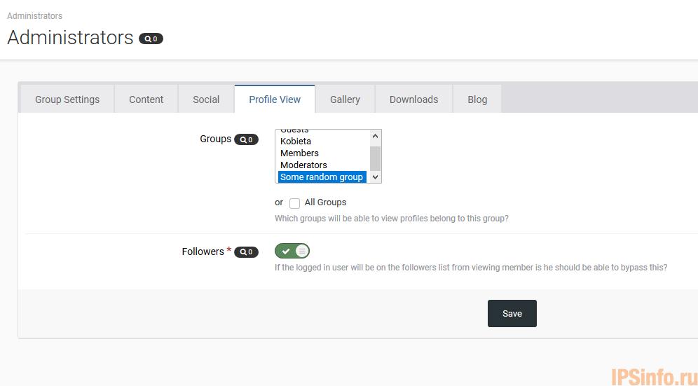 (DP42) Custom Profile View Permissions