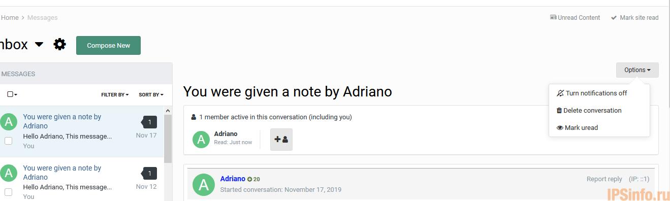 Mark Message As Unread