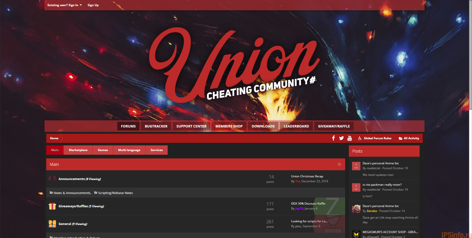 Union.gg Theme