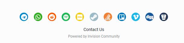 Additional Social Profiles