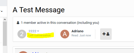 Rejoin Member To Conversation