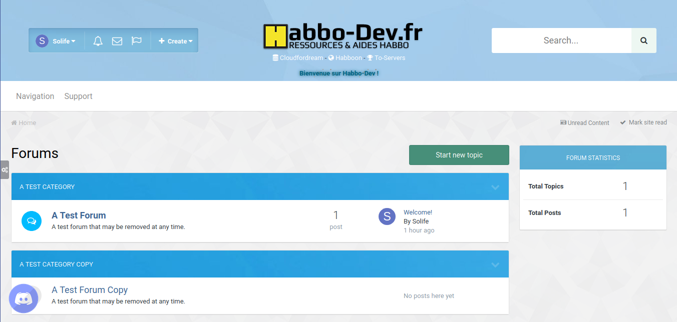 Habbo-Dev Theme