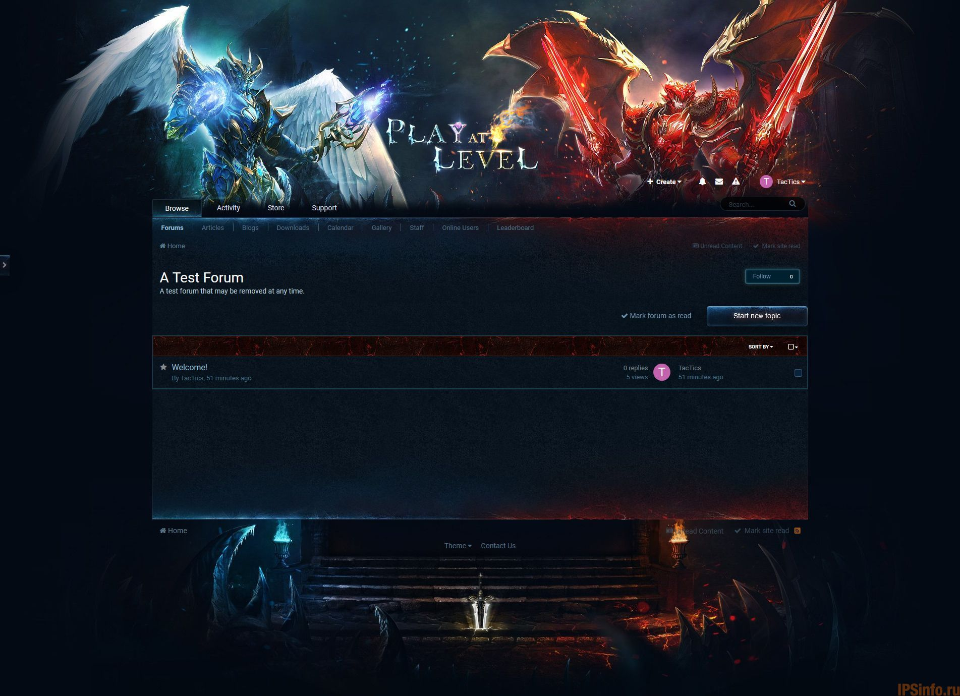 Play At Level (MU Online Theme)