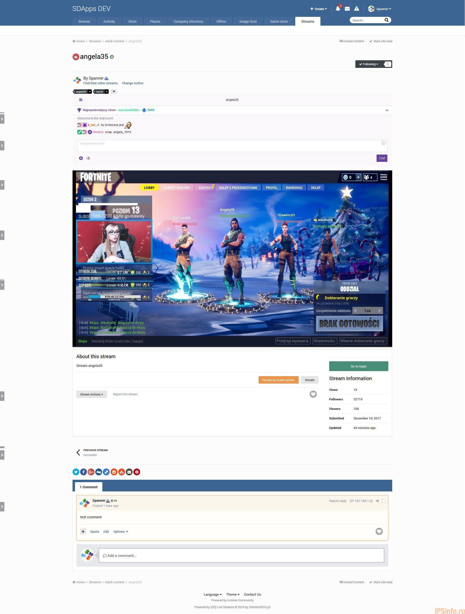 (SD) Live Streams