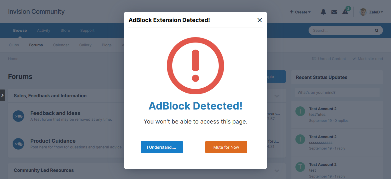 Enhanced AdBlock Blocker