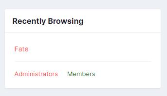 Group Name Indicator