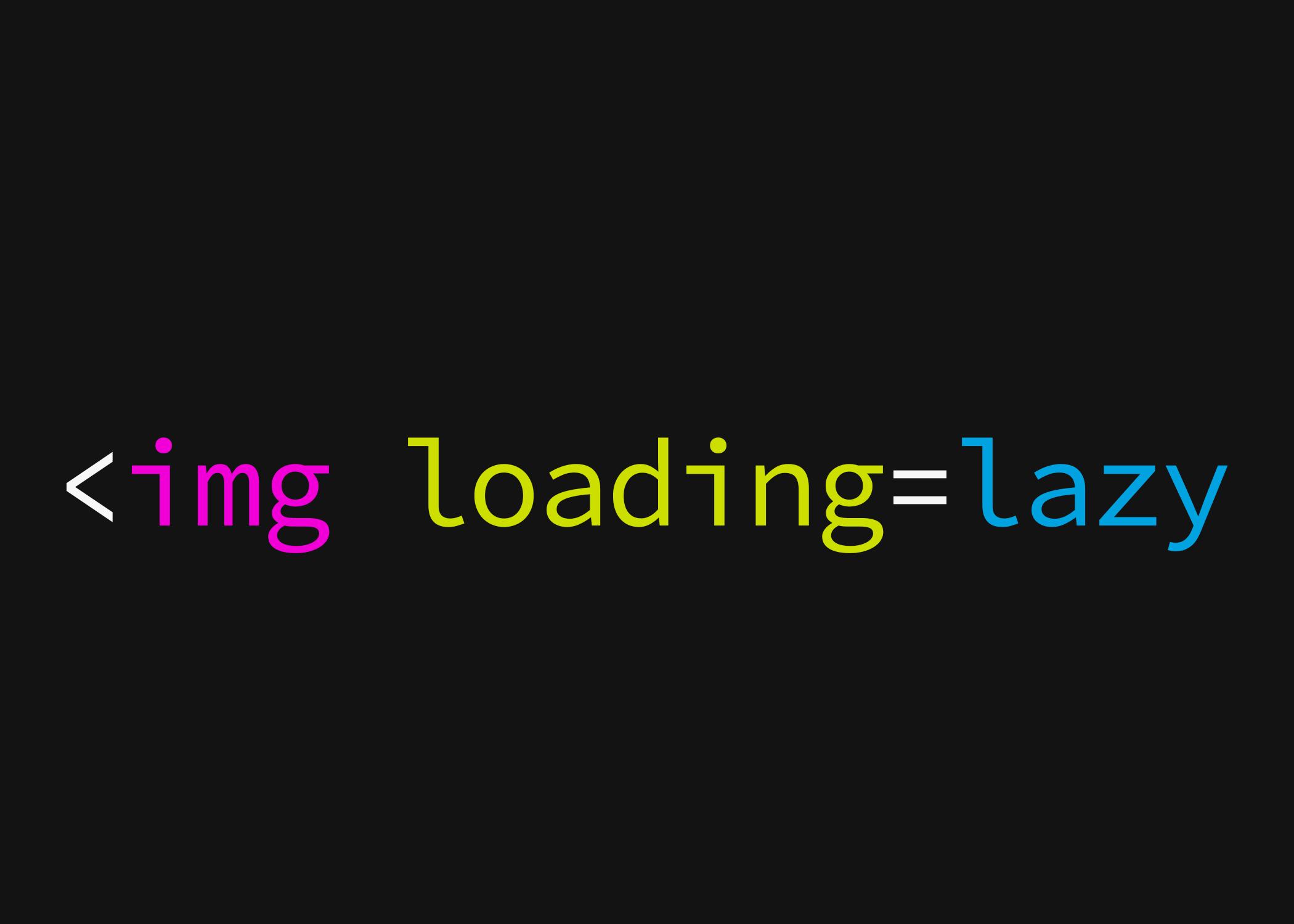 Lazy Loading Images