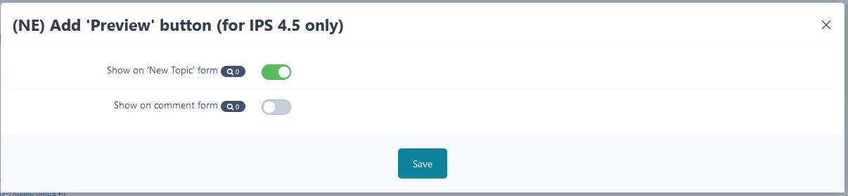 (NE) Add 'Preview' button